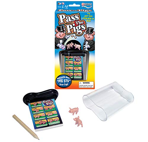 Winning Moves Games Pass The - Party Game Pigs Classic