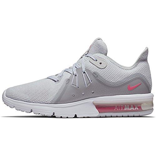 Nike Damen Laufschuhe Pure Platinum/ Racer Pink-wolf Grey