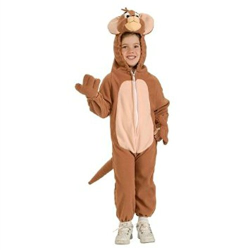 Tom n Jerry - Jerry Child Halloween Costume Size 5-7 Years Brown