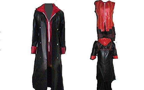DMC Devil May Cry 4 Nero Cosplay Costume + free Wig]()