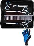 Best Dog Grooming Scissors - ElmaAlmi Dog Grooming Scissors Kit - and Pet Review