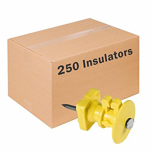 Zareba Systems IWKNY-Z Z Insulator with Double-Headed Nails, 250 Pack