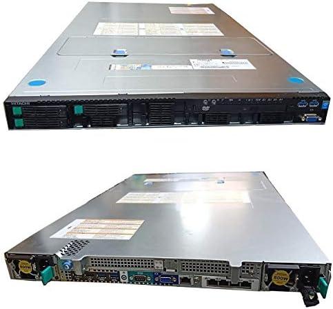 [サーバー][1U][16コア32スレッド] 日立 HA8000/RS210/AN1 (Xeon E5-2640 v3 2.6GHz*2/48GB DDR4/2.5inch 300GB*3/RAID/DVD/Windows Server 2012 R2認証済)
