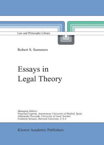 Essays in Legal Theory (Law and Philosophy Library)