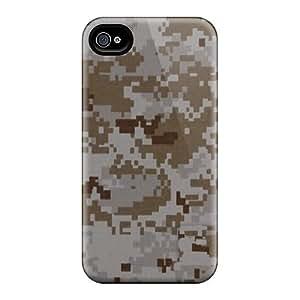 Iphone 6plus ZVZ13725mfDp Custom Stylish Camo Desert Digital Pattern Perfect Cell-phone Hard Cover -DrawsBriscoe
