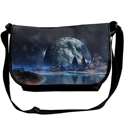 Black Planet Crossbody Designer Bags Casual Unisex World Bags Fantasy Handbags Versipacks Fashion Px1wdqwT