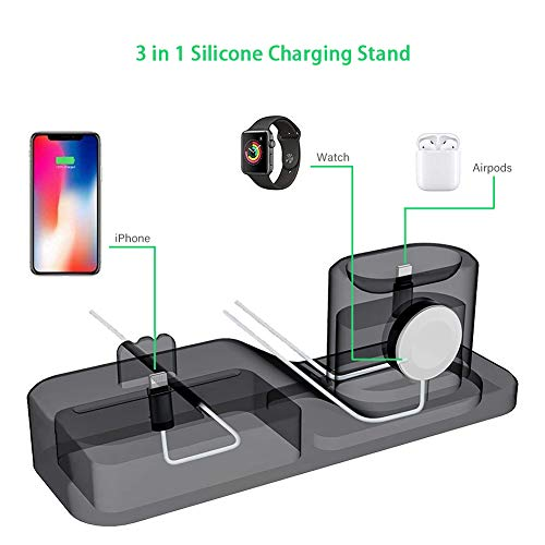 3-in-1-Charging-Stand-for-iPhone-AirPods-Apple-Watch-Charger-Dock-Station-SiliconeSupport-for-Apple-Watch-Series-321AirPodsiPhone-X88-Plus77-Plus6s-Black