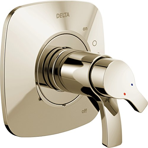 Delta Faucet T17052-PN Tesla Monitor 17 Series Valve Only Trim, Polished Nickel