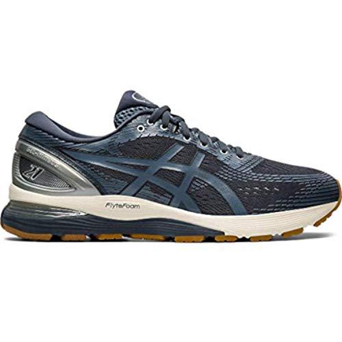 - ASICS Gel-Nimbus 21 Men's Running Shoe (10.5 M US, Tarmac/Blue Steel)