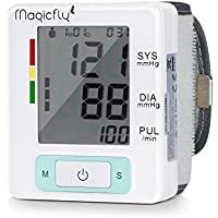 Magicfly Wrist Blood Pressure Monitor