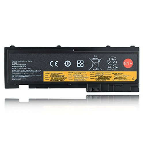 81+ Emaks Battery for Lenovo ThinkPad T420i T420s T430s 0A36287 42T4844 42T4845 42T4846 42T4847 45N1036 45N1037 45N1038 45N1039 45N1064 45N1065 45N1143 - 11.1V 5200mAh 6-Cell