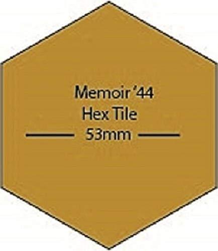 Memoir 44 Board Game Blank Hex Tiles 20 Pack Laser Cut MDF FAST SHIPPING