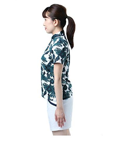 アディダス ゴルフウェア ポロシャツ 半袖 ACボタニカルPT CCR45 ネイビー OT