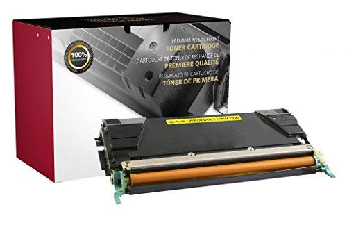 Recreated Cartridges Lexmark C736H2YG | Yellow Color 10,000 Pages for Lexmark C736, C736DN, C736DTN, C736N, X736, X736DE, X738, X738DE, X738DTE (C736dn Color Printer Laser)