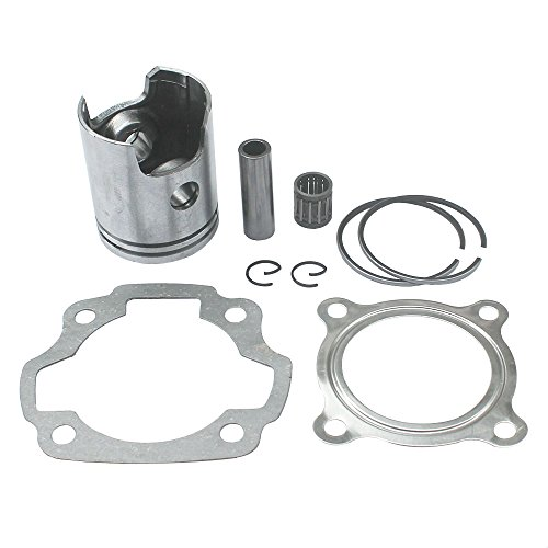 KIPA Engine Cylinder Piston Ring Head Gasket kit For YAMAHA PW80 PEEWEE 80 Y-Zinger Pit Dirt bike 1986-2006 Replace OEM Part # 3E5-11631-00-97