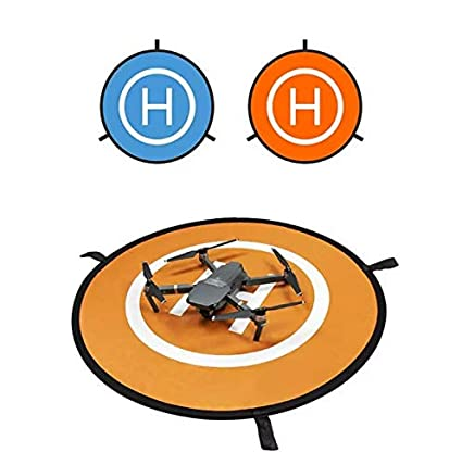 BarnStormers - 30 inch Ultra Portable Drone Landing Pad, Reflective Night  Guide Lights, High Visibility Quadcopter Landing Pad