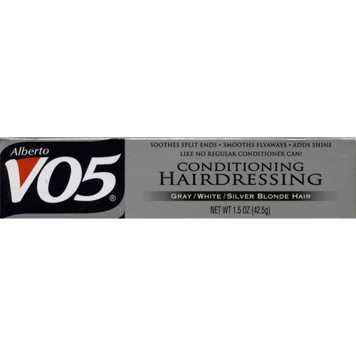 Alberto VO5 Conditioning Hairdressing for Gray/White/Silver Blonde Hair 1.5 oz (3 - Hairdressing Cream