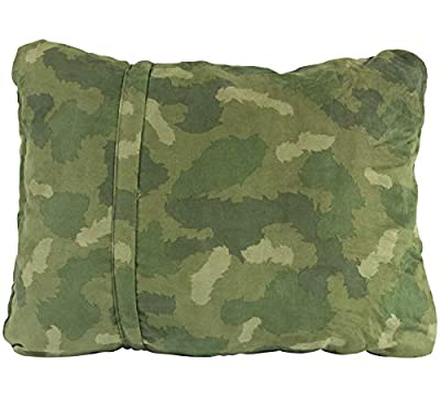 Therm-a-Rest Compressible Travel Pillow for Camping, Backpacking, Airplanes and Road Trips
