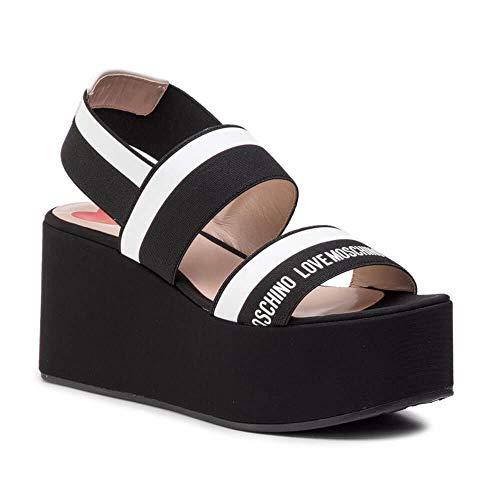 Love Moschino Women Black Wedges