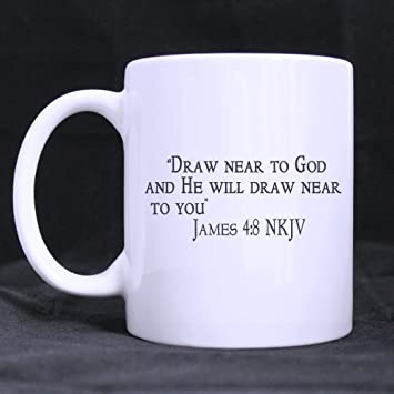 Amazon Com Christmas Day Gifts Bible Quote Draw Near To God And He