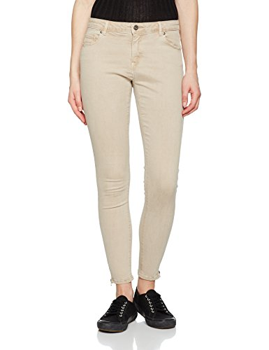 Only Onlserena Reg SK Ankle Pants PNT Noos, Pantalon Femme Beige (Pure Cashmere)