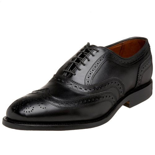 Allen Edmonds Men's McAllister Wing Tip,Black,10.5 D US