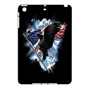 US Flags On bald Eagle Hard Plastic phone Case Cover For Ipad Mini Case CDAF465968