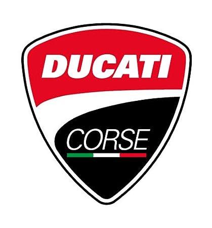 Ducati 2018/Corse Polo da Uomo Rosso//Bianco 100/% Cotone Tutte Le Taglie dalla S alla XXL