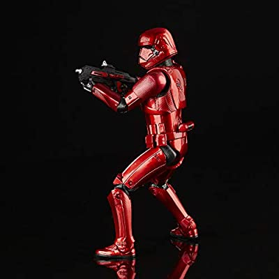 Star Wars The Black Series Carbonized Collection Sith Trooper Toy 6