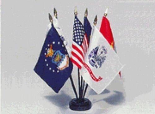 Guardia Costera de escritorio juego de bandera de mesa de Estados ...