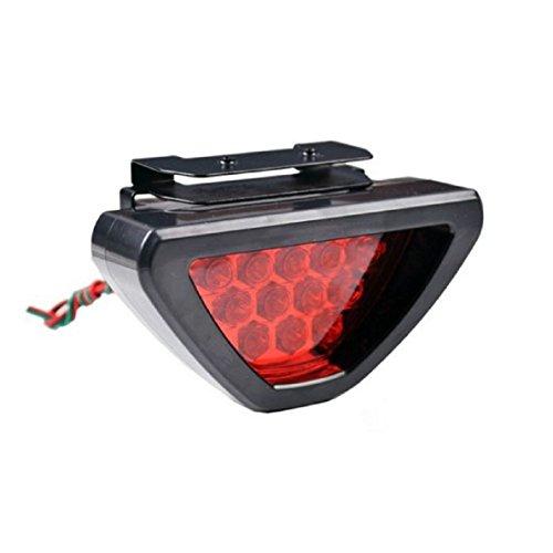 Fullkang F1 Style Auto Car ATV SUV 12V LED Stop Fog Tail Brake Light Lamp - F1 Light