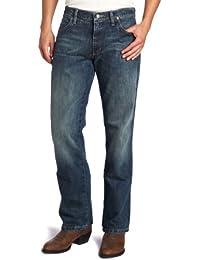 Men's Retro Slim-Fit Bootcut Jean