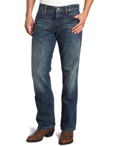 Wrangler Men's Retro Slim Fit Boot Cut Jean, River Wash,  32