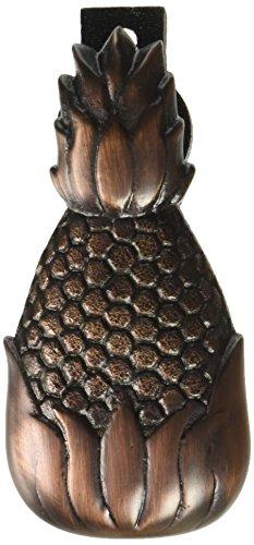 Hospitality Pineapple Doorbell Ringer - Oiled Bronze Hospitality Pineapple Brass Door Knocker