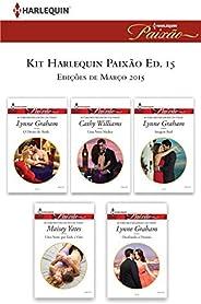 Kit Harlequin Harlequin Jessica Especial Mar.15 - Ed.15 (Kit Harlequin Jessica Especial)