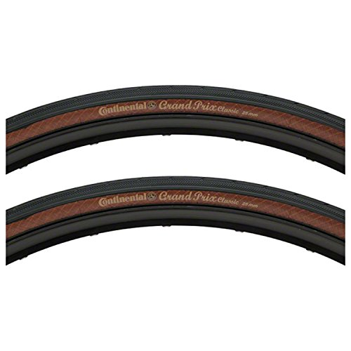 Continental Pair of Grand Prix Classic 700 x 25c Tires