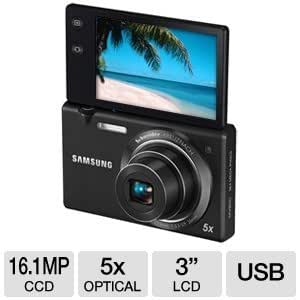Samsung MV800 MultiView Digital Camera (Black)