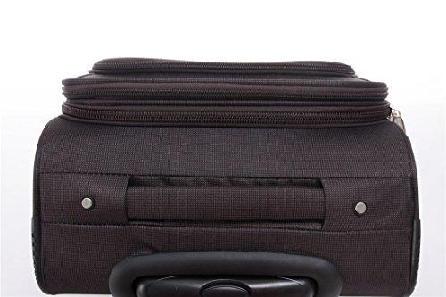 412pUsGCExL - 8005 3 piezas, 4 ruedas de maletas duras tela maleta conjunto de equipaje maleta de viaje en 5 coloures