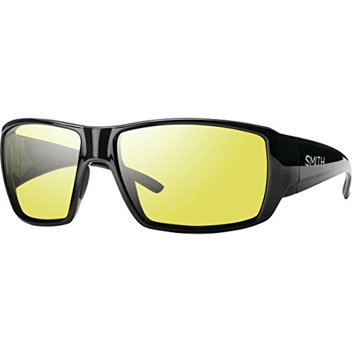 Smith Optics Guides Choice Sunglasses, Black Frame, Polar Low Light Ignitor Techlite Glass - Smith Sunglasses Fishing