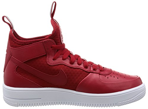 Nike Herren Air Force 1 Ultraforce Mid Schuhe Gym Red / Gym Rot-weiß