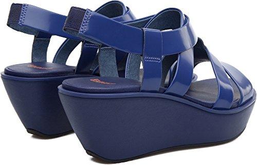 Camper Damas K200080-004 Plataformas Mujer Azul