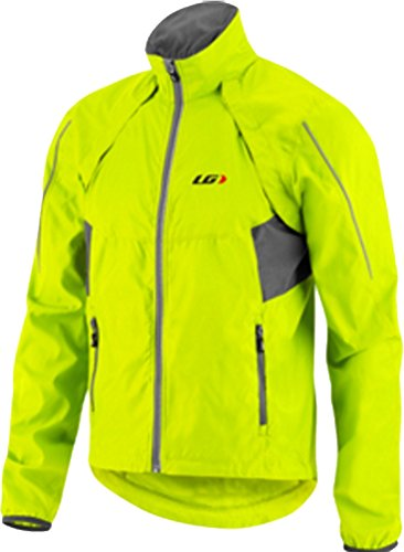 Louis Garneau Cabriolet Jacket - Men's Bright Yellow Small