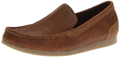 Clarks Men's Clarks Brandt Loafer,Brown,7.5 M US