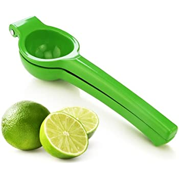 New Star Foodservice 42849 Enameled Aluminum Lime Squeezer, Green