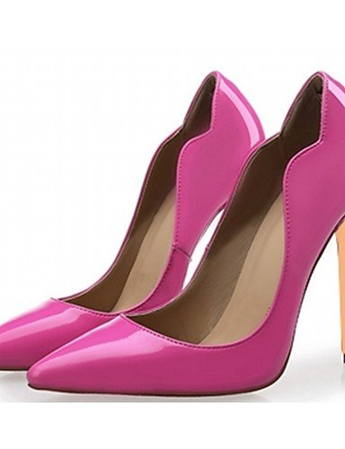 Vestido Uk3 Noche Mujer Black Cn35 Zq Patentado boda Fiesta Y us5 us5 Eu35 tacones Stiletto Red De Casual Microfibra Zapatos Oficina Uk3 Eu36 tacones cuero Trabajo Cn 5 tac¨®n Cn34 5 6qfPq