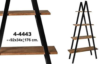 Muebles Olivares Estanteria Triangular Madera: Amazon.es: Hogar