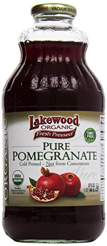 Lakewood, Organic Pomegranate Juice, 32oz
