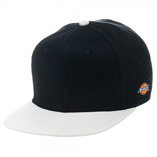 Dickies Black And White (Dickies Core Adjustable Snapback Baseball Cap (Various Colors) (Black/White))