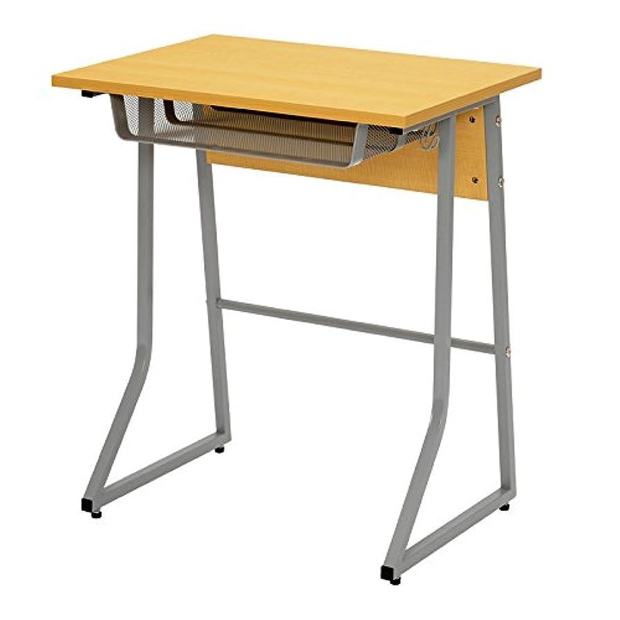 抜け目がない磁石粗いideaco (イデアコ) 学習デスク ホワイト 幅79×奥行き39×高さ73cm Plywood Series(プライウッドシリーズ)