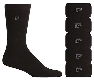 Pierre Cardin mezcla formal de algodón para hombre calcetines - 5 pares - Tamaño 40-45